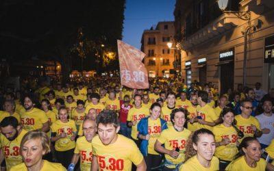 Run 5.30 Palermo . 1700 emozioni in una sola alba