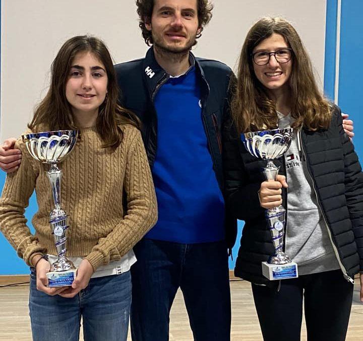 Tre atlete in premiazione!